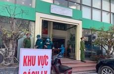 Hà Nội: Cách ly y tế tòa nhà có ca dương tính với SARS-CoV-2
