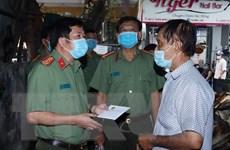 An Giang: Hỗ trợ 3 gia đình bị cháy rụi nhà tại thành phố Long Xuyên
