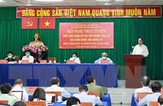Chủ tịch nước Nguyễn Xuân Phúc tiếp xúc cử tri huyện Củ Chi và Hóc Môn