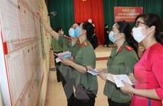 Không khí bầu cử tại Bắc Kạn, Điện Biên, Hưng Yên và Ninh Bình