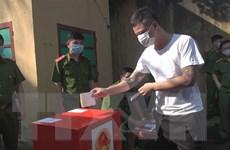Cử tri Thanh Hóa, Quảng Trị, Kiên Giang, Long An nghiêm túc đi bầu cử