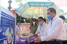 Không khí nghiêm túc tại các điểm bầu cử ở Nghệ An, Hà Tĩnh
