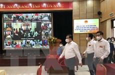 Bí thư Thành ủy Hà Nội kiểm tra công tác bầu cử tại các quận trung tâm
