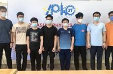 Việt Nam có học sinh đạt điểm cao nhất Olympic Vật lý châu Á-TBD