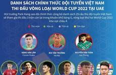 Danh sách đội tuyển Việt Nam thi đấu vòng loại World Cup 2022 tại UAE