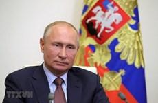 Tổng thống Nga khẳng định củng cố hợp tác chiến lược với Trung Quốc