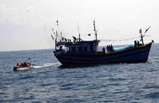 Nghệ An: Tìm kiếm thuyền viên nghi mất tích khi đang đánh cá trên biển