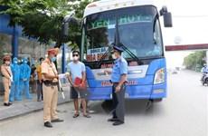 Ninh Bình lập 5 chốt kiểm soát xe khách ra vào địa bàn tỉnh
