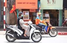 Bắc Bộ và Thanh Hóa đến Phú Yên nắng nóng gay gắt, có nơi trên 38 độ C