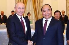 Chủ tịch nước Nguyễn Xuân Phúc gửi thư tới Tổng thống Nga Putin