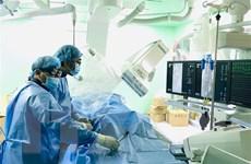 Cứu bệnh nhân bị vỡ gan phức tạp bằng phương pháp nút mạch hiện đại