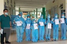 Đà Nẵng: Tám bệnh nhân mắc COVID-19 được công bố khỏi bệnh