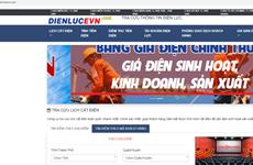 Xuất hiện trang web giả mạo thương hiệu Tập đoàn Điện lực Việt Nam