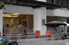 [Photo] Phong tỏa tòa Park 7 Times City liên quan đến ca dương tính