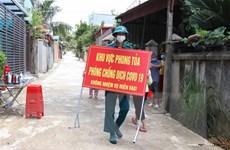 Một cụm dân cư ở thành phố Điện Biên Phủ được dỡ bỏ phong tỏa