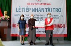 Giáo hội Phật giáo Việt Nam TP.HCM ủng hộ tuyến đầu chống dịch
