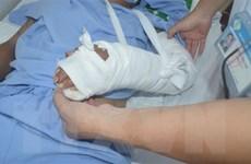 Cần Thơ: Nối thành công bàn tay bị đứt lìa cho bệnh nhân 32 tuổi