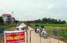 Thái Nguyên không còn khu vực bị phong tỏa chống dịch COVID-19
