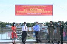 Hỗ trợ cộng đồng người Khmer gốc Việt tại Campuchia khắc phục khó khăn