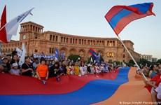 Tuần hành lớn tại Armenia trước thềm cuộc bầu cử Quốc hội