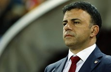 HLV Macedonia Angelovski là nhà cầm quân đầu tiên từ chức ở EURO 2020