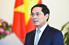 Bộ trưởng Bùi Thanh Sơn dự Hội nghị về hợp tác Vành đai và Con đường
