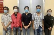 TP Hồ Chí Minh: Triệt phá băng nhóm dùng bình xịt hơi cay để cướp của