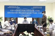'Việt Nam sẽ không ngừng đoàn kết, sát cánh với nhân dân Cuba'