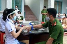 Hà Tĩnh: Huy động 5 chiến sỹ công an hiến máu cứu sản phụ trong đêm