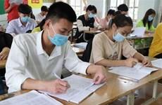 Hà Nội rà soát tất cả các khâu trong kỳ thi tốt nghiệp THPT