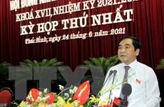 Ông Nguyễn Tiến Thành tái đắc cử Chủ tịch HĐND tỉnh Thái Bình