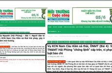 Phạt 34 triệu đồng đối với tạp chí đăng tin sai về KCN Nam Cầu Kiền