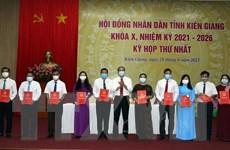 Bầu các chức danh chủ chốt của Hội đồng Nhân dân, UBND tỉnh Kiên Giang