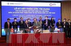 Ký thỏa thuận tín dụng 1.900 tỷ đồng cho Dự án thủy điện Ialy mở rộng