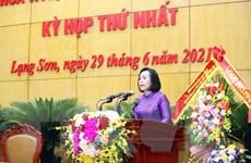 Bà Đoàn Thị Hậu được bầu làm Chủ tịch Hội đồng Nhân dân tỉnh Lạng Sơn