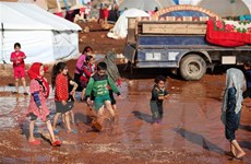Nga đề xuất kéo dài 6 tháng tuyến huyết mạch viện trợ cho Syria