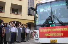 Yên Bái, Thái Nguyên, Kon Tum hỗ trợ TP.HCM chống dịch COVID-19