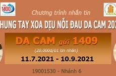 Triển khai chương trình nhắn tin ủng hộ các nạn nhân da cam