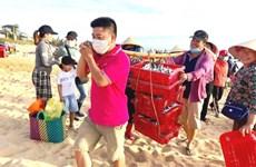 COVID-19: Ân tình của Quảng Bình dành cho người dân vùng dịch