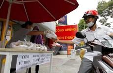 Những nghĩa tình cao đẹp nơi 'tâm dịch' Thành phố Hồ Chí Minh