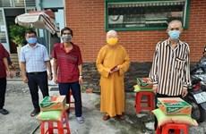 Đồng bào có đạo tại Thành phố Hồ Chí Minh hỗ trợ tuyến đầu chống dịch