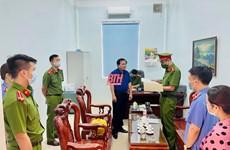 Thanh Hóa: Bắt giam một cán bộ Kho bạc Nhà nước huyện Nông Cống