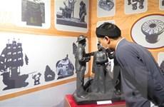Khai mạc trưng bày 'Nghề điêu khắc than đá Quảng Ninh' ở Huế