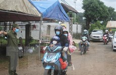 Đảm bảo an toàn cho người dân từ vùng dịch COVID-19 trở về quê