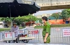 Hà Nội: Mỗi chốt kiểm soát là một 'pháo đài' phòng, chống dịch
