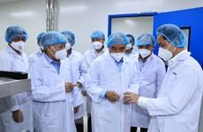 Chủ tịch nước thăm doanh nghiệp sản xuất vaccine Nanocovax