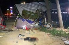 Bình Thuận: Tai nạn nghiêm trọng tại chốt kiểm dịch làm 1 người chết