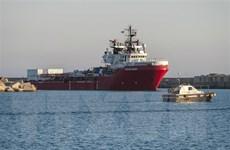 Tàu Ocean Viking giải cứu gần 200 người trên Địa Trung Hải