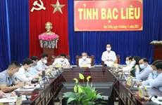Thứ trưởng Đỗ Xuân Tuyên: Bạc Liêu cần đẩy nhanh tiến độ tiêm vaccine