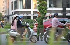 Hình ảnh đẹp của các chiến sỹ công an trong lòng người dân Thủ đô